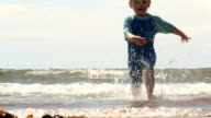 Being Chased By Ocean Waves video