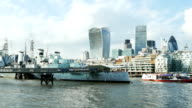 HMS Belfast Museum Ship And City Of London video