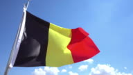 Belgian Flag video
