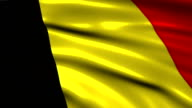 Belgium charming flag video
