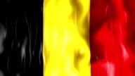 Belgium Flag Animation video