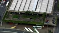 Belo Horizonte Bus Station  - Aerial View - Minas Gerais, Belo Horizonte, Brazil video
