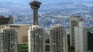 Belo Horizonte From Southeast Ridge  - Aerial View - Minas Gerais, Nova Lima, Brazil video