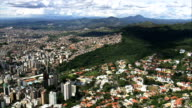 Belo Horizonte In Wide Shots  - Aerial View - Minas Gerais, Belo Horizonte, Brazil video