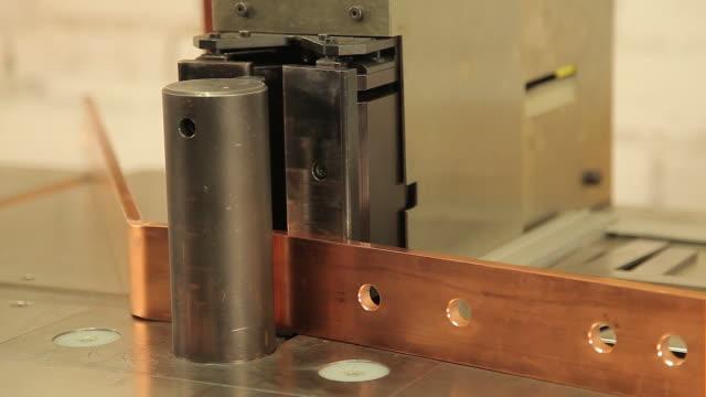 Bending copper busbar video