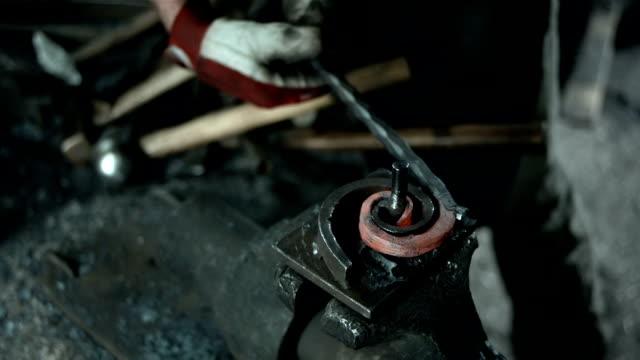HD: Bending Wrought Iron video
