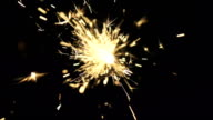 Bengal light (slow motion) video