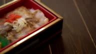 Bento box video