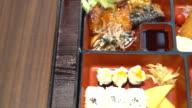 bento set - japanese food style video