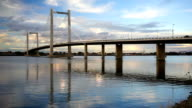 Benton Franklin Intercounty Bridge Columbia River Kennewick Washington video
