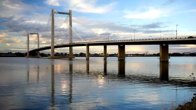 Benton Franklin Intercounty Bridge Columbia River Kennewick Washington video