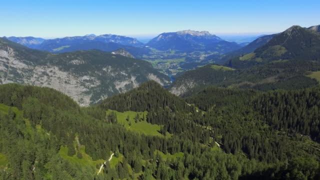 Berchtesgaden Alps And Mt Untersberg Viewed From Gotzenberge Mountains video
