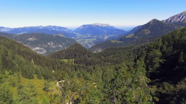 Berchtesgaden Alps Around Lake Koenigssee In Bavaria video