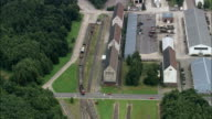 Bergen-Hohne Military Training Area  - Aerial View - Lower Saxony,  Germany video
