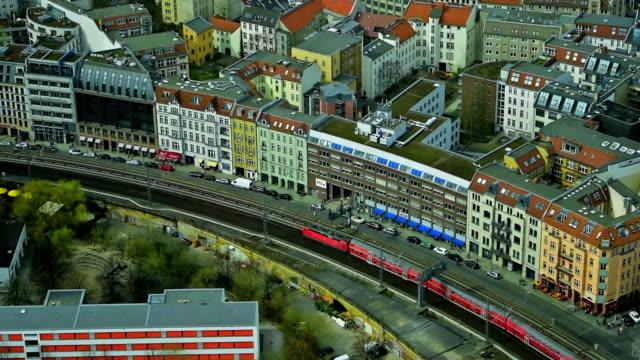 Berlin, Alexanderplatz: Railway Station video