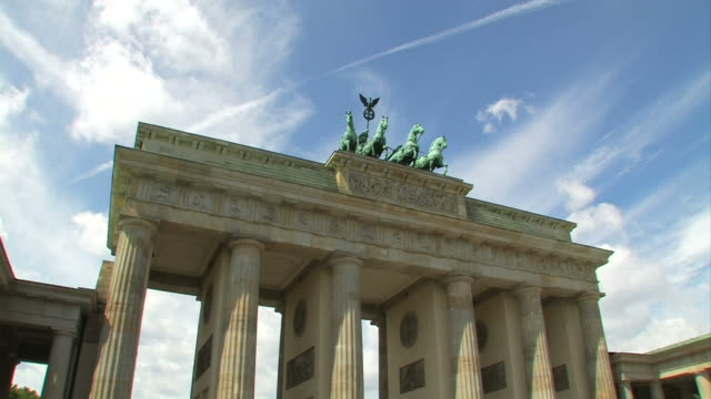 Berlin Brandenburg Gate, Time Lapse video