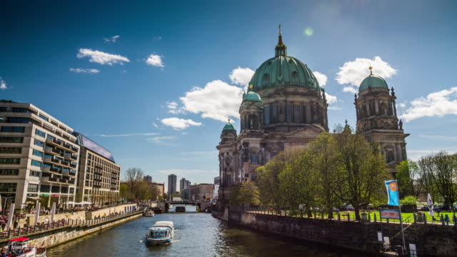 Berlin Cathedral. Berliner Dom, Germany video