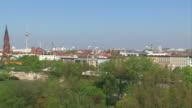 Berlin panoramic view video