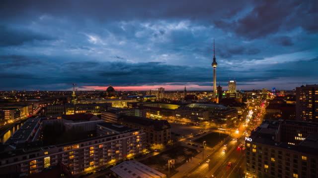 Berlin Skyline City Panorama video