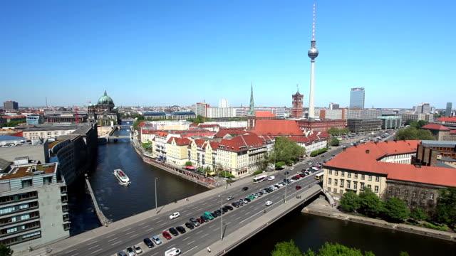 Berlin Skyline - Time Lapse video