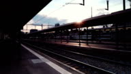 Bern railway station capital of Switzerland video
