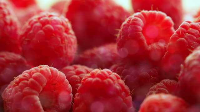 Berries raspberry video
