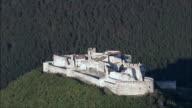 Beseno Castle  - Aerial View - Trentino-Alto Adige, Trento, Besenello, Italy video