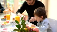 FILM MONTAGE: Best moments of traditional Turkish family breakfast video