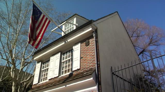 Betsy Ross House. Philadelphia. video