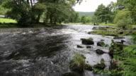 Betws-y-Coed Wales UK Snowdonia National Park river walk to Swallow falls video