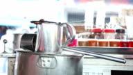 Beverage Preparing in Thailand Street food cafe video