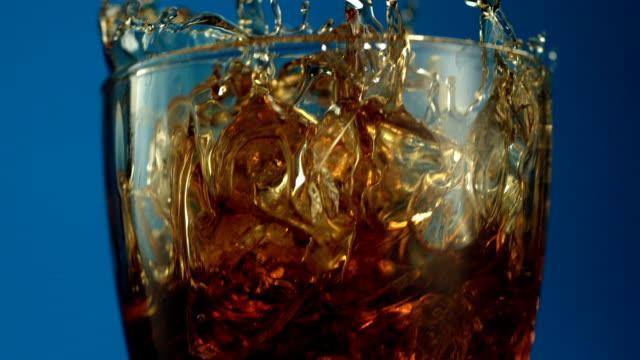 Beverage splash video