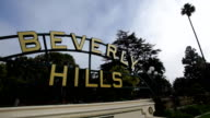 Beverly Hills Sign video