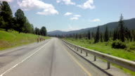 Biathletes trained bicycles. Chuysky Trakt on mountain pass Seminsky video