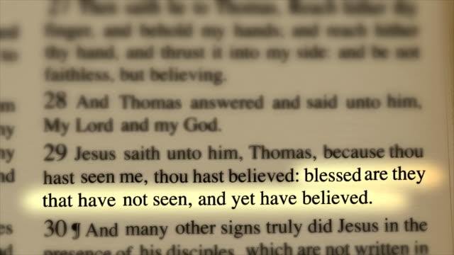 Bible Believe video