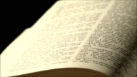 Bible pages video