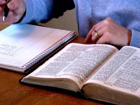 NTSC: Bible Study-Taking Notes video