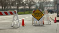 Bicycle Race Barricades video