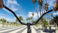 Bicycle Ride on Venice Beach video