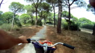 Bicycle Riding Gopro Video video