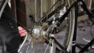 Bicycle servicing video