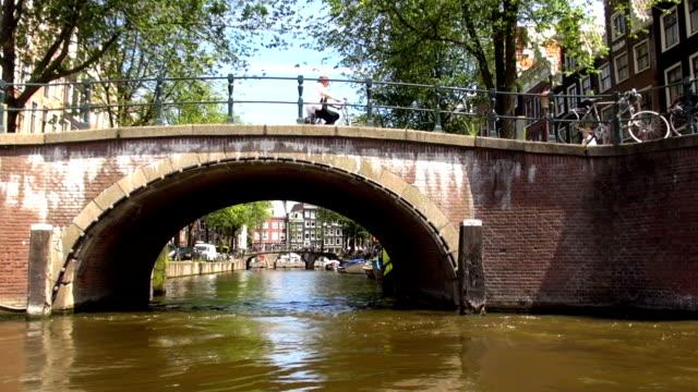 Bicyclists - Amsterdam, Netherlands video