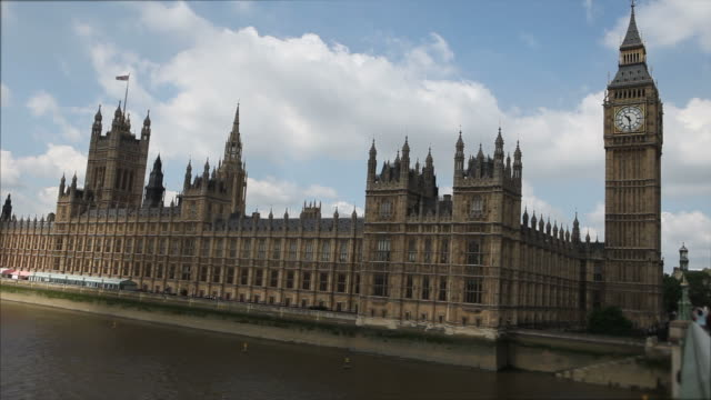 Big Ben and Parliament in London England video