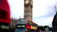 Big Ben and Parliament in London video
