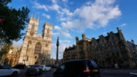 4K Big Ben and Westminster abbey in London, UK video