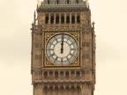 Big Ben (London) at noon - PAL video