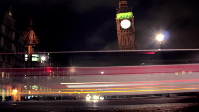 Big Ben, London night timelapse. HD1080,NTSC,PAL video