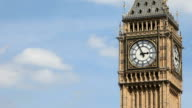 Big Ben, London, UK - time lapse. video