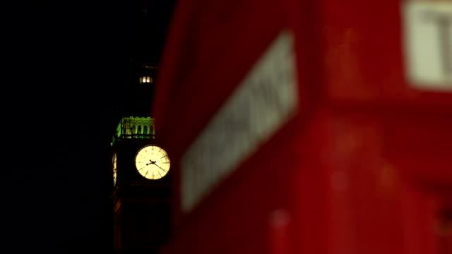 DOLLY HD - Big Ben & Phonebox (London) video