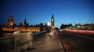 Big Ben Road WS TimeLapse video